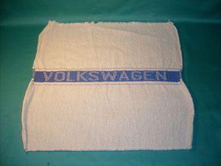 Towel VW Volkswagen Beetle Bug Split Oval T1 Samba Barndoor Karmann Ghia Rabbit