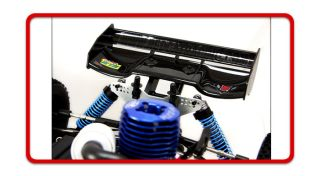 1 8 Nitro 4WD RC Redcat Monsoon XTR Truggy 2 4GHz Remote Control Starter Kit