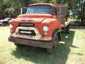 55 GMC Chevy Cabover Stubnose Truck 1 1 2 2 Ton