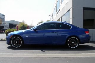 "19"" MRR GT1 Black Staggered Wheels Rims Fits BMW E60 M5"