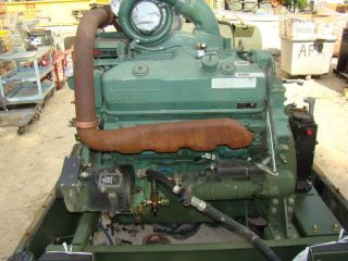 Military MTU Detroit Diesel Motor Engine 8V92 Industrial Engine Container