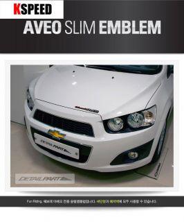 Kspeed Chevrolet 06 11 Chevy Aveo 5D Barina Driving Emblem