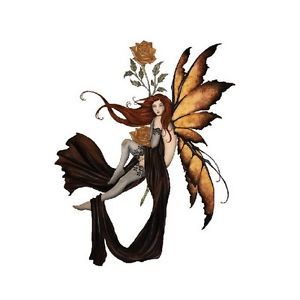 Amber Rose Faery Fairy Sticker Car Decal Amy Brown Goth Gothic Pagan Faerie