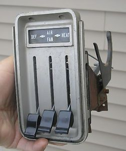 1964 1965 1966 Chevrolet GMC C10 Chevy Truck Heater Control Unbroken New Knobs