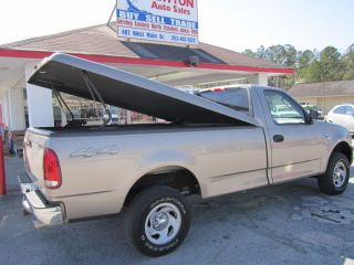 Leer Fiberglass Tonneau Cover for A 1999 2004 Ford F 150 Long Bed Pickup