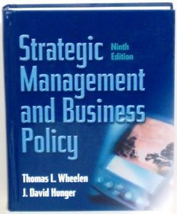Strategic Management Business Policy 9th Edition