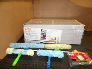 HDX Storage Shelf Window Cleaning and Broom Head