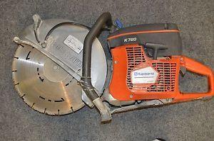 Husqvarna Handheld Power Cutter 14in Blade 74cc Gas Engine Model K760 14in