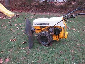 Gravely Commercial 12 with Snow Plow Mower Rotary Plow