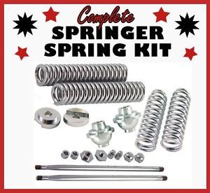 Harley DNA Hardbody Paughco Springer Front End Rebuild Kit Replacement Parts