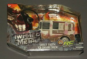 PlayStation Twisted Metal Sweet Tooth Ice Cream Truck RC Remote Control Car New