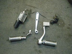 '79 '81 Harley Ironhead Sportster Mid Control Parts Lot