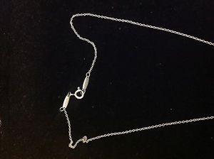 eb7610ebb Tiffany Co Elsa Peretti 925 Sil Initial Alphabet Letter C Pendant Necklace
