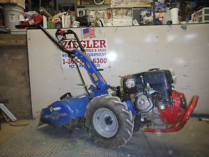 2003 BCS Gardner 710 Rear Tine All Gear Drive Roto Tiller with 8 0 HP Honda