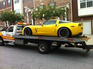 C6 Corvette Z06 Premium 19 20 Black Chrome Deep Dish 19 20 Wheel Tire Sensor Set