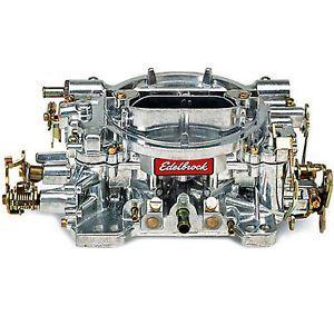 Edelbrock Carburetor Full Size Truck Suburban Chevy Chevrolet C10 C20 86 1407