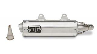 DG O Series Slip Exhaust Yamaha Raptor 700 DG 03 4180