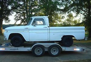 1965 Chevrolet C10 SWB Fleetside Pickup Truck Fixer Upper V8 Big Back Glass
