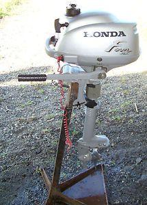Honda BF2D 2HP 2 HP Four 4 Stroke Small Outboard Boat Motor Engine Kicker