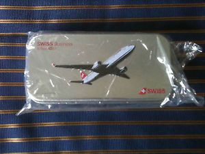 Swiss International Airlines Business Class Amenity Kit Tin Airbus A330 Swissair