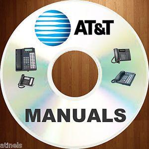 At T Telecom Phone System Magix Lucent Avaya Partner User Install Manuals DVD