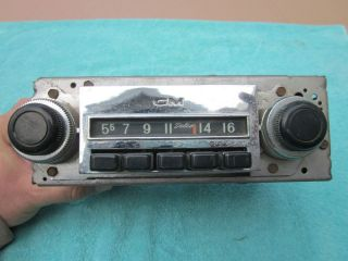 Original 67 68 69 70 71 72 Chevy GMC Truck Am Radio GM Delco