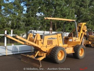 2004 Case 960 4x4 Vibratory Cable Plow 6 Way Dozer Blade Reel Hanger Turbo DSL