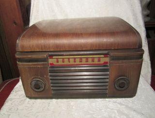 Vintage RCA Victor Tube Phonograph Radio Model 65U Victrola Record