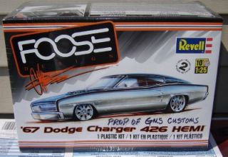 Revell Model Kit 4051 1 25 1967 Dodge Charger Chip FOOSE 426 in Stock Now