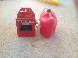 RC Fuel Tank Gas Can with Electric Pump for Gas Engines Field Box