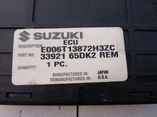 2000 2001 Suzuki Vitara 2 0L ECU ECM Engine Computer 33921 65DK2 REM
