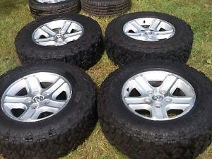 Dodge RAM 1500 Wheels Tires