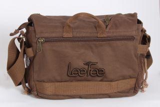Vintage Waterproof Canvas Camera Shoulder Messenger Travel Bag Nikon Canon Sony