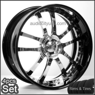 """22"""" AC Forged Wheels and Tires Pkg for Land Range Rover Rims 3pc Forged"""