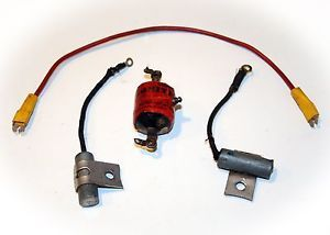Smith Ignition Coil Spark Plug Wire Condenser Model Airplane Ignition Engine