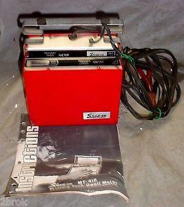 Vintage Snap On MT418 Primary Tach Dwell Test Meter Rat Hot Rod