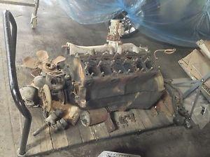 Lincoln V12 Flathead Engine Flat Head Zephyr Continental Ford Motor Rat Hot Rod