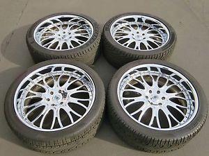 "24"" Chrome asanti Wheels Cadillac Escalade GMC Denali GM Chevy Tahoe Forgiato"