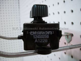 Chevy GMC Pickup Truck Interior Seat Adjust Switch 12450256 A1226