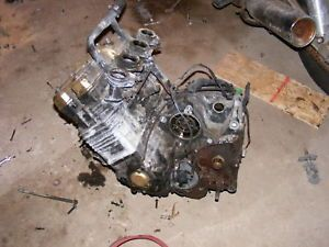 1986 FZ750 FZ 750 Engine Motor Transmission Crankcase