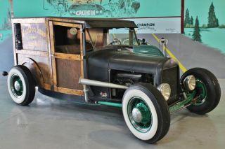 1929 Ford Model A Rat Rod Hot Rod Street Rod Custom Car