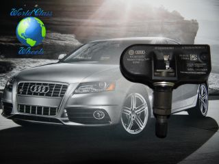Audi VW TPMS Tire Pressure Sensors Set of 4 Free FedEx 2 Day Air SHIP