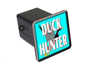 """Duck Hunter Bird Hunting 2"""" Tow Trailer Hitch Cover Plug Insert"""