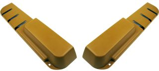 Volvo 240 Door Pocket Map Pocket Door Panel Beige Color Pair New Set of 2