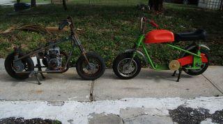 Vintage Broncco Fanichino Fantic Italian TX11 Mini Bike Minibike Roller