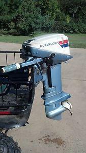 Evinrude 15 HP Outboard Motor Boat Engine 10 15 20 25 Manual Start OMC Johnson