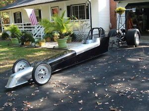 Dragster 230'' Pro Built Chassis Blown Hemi BBC Slicks Wing Top Fuel Flopper