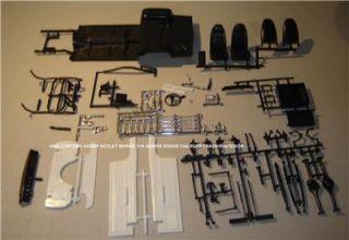 Model Kit Lot Chassis Frame Susp Interior 1 16 Mopar Dodge Charger Big Scale