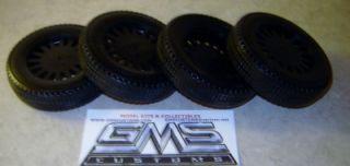 Model Kit Lot Tire Black Vinyl 1 16 Scale Big Rig Truck Tires gms Customs Parts