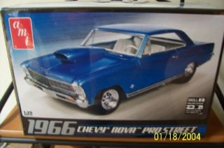 AMT 636 1966 Chevy Nova Pro Street 1 25 gms Customs Hobby Outlet July Sale